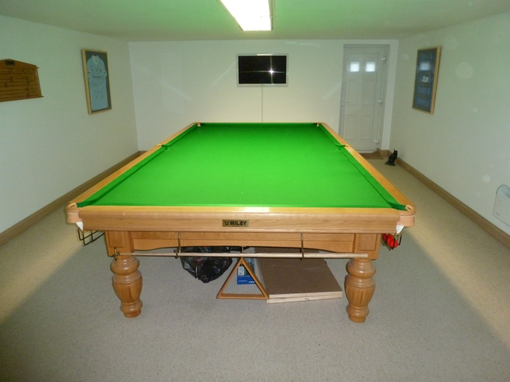 Riley aristocrat gcl billiards for 12 ft snooker table