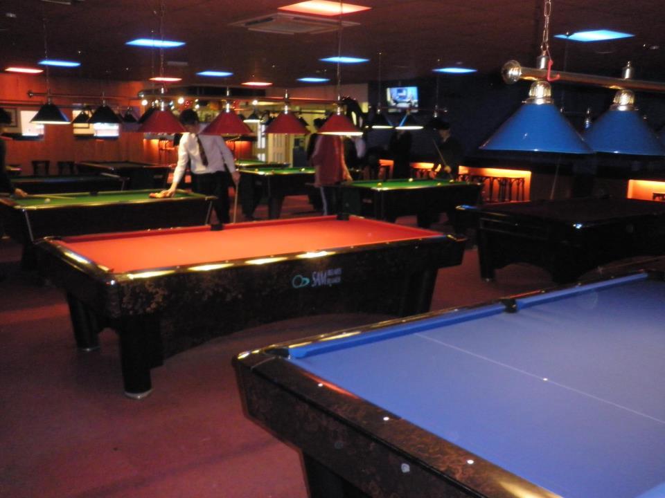Sam K Steel 9ft American Pool ...