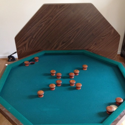 WANTED BUMPER POOL TABLE GCL Billiards - Hexagon pool table