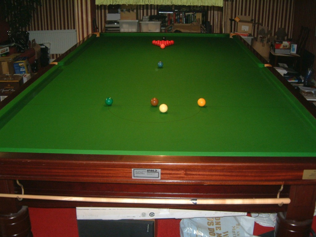 Enbild Full Size Snooker Table For Sale Gcl Billiards