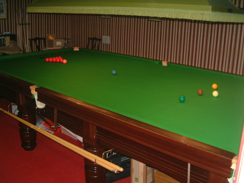 For Sale GCL Billiards Page - How big is a pool table