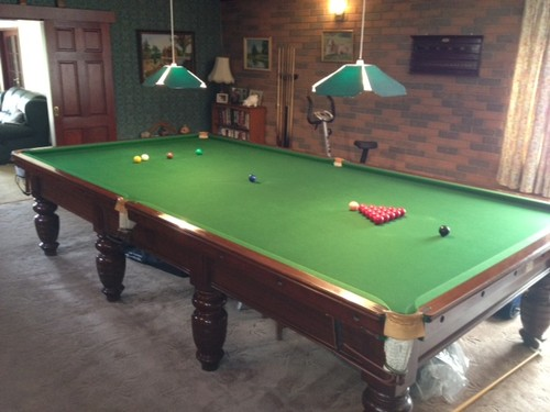Relocating a full Size Snooker Table from Mansfield to Lincoln ...